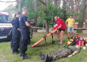 Służby szkoliły młodzież z pierwszej pomocy i zasad bezpieczeństwa