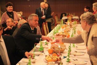 Wspólnie kolędowali w Moszczenicy