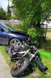 Dlaczego zginął motocyklista?