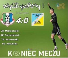 Polonia Piotrków zwycięska