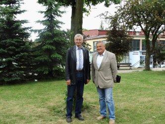 Były burmistrz Esslingen odwiedził Piotrków
