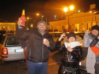 Piotrkowianie przywitali nowy rok