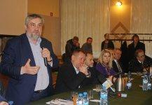 Spotkanie ministra z rolnikami w Grabicy