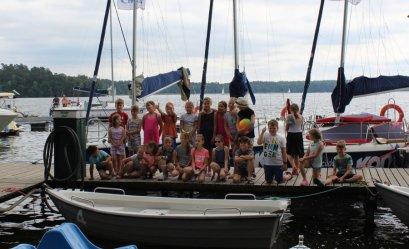 Choberki i Młodzieżowa Orkiestra Dęta ćwiczą również na wakacjach