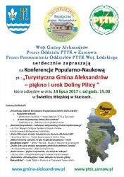 Turystyczna Gmina Aleksandrów - piękno i urok Doliny Pilicy