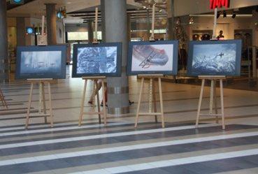"""Trwa wystawa """"Odloty hesji 2"""" w galerii Focus Mall"""