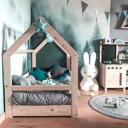 Łóżko domek - odkryj nowe możliwości w urządzaniu pokoju dla dziecka