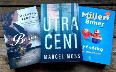 Książka na weekend - Nowa seria Marcela Mossa