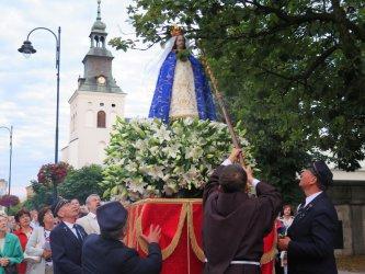 Pierwsza taka procesja w Piotrkowie