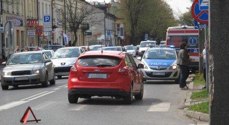 Potrącenie dziecka na ulicy Słowackiego w Piotrkowie