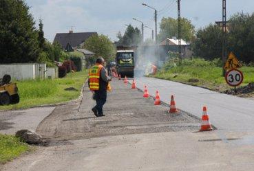 Remontują ulicę Świerczowską w Piotrkowie