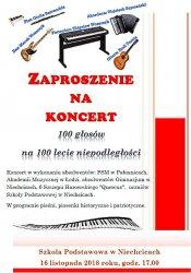 100 głosów na 100-lecie niepodległości w Niechcicach