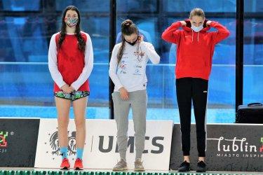 Wiktoria Guść brązową medalistką Mistrzostw Polski