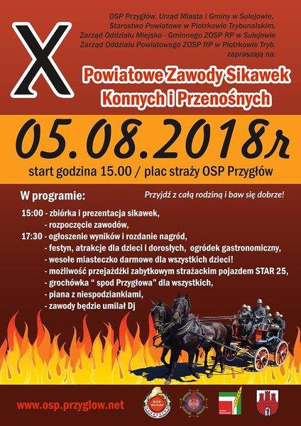 Konkurs sikawek w Przygłowie