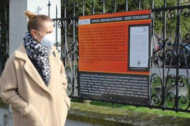 """Muzeum w Piotrkowie prezentuje: """"Katyń – pro memoria""""."""