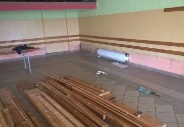 Trwa remont w Domu Ludowym w Krężnej