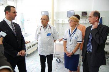 Piotrkowski szpital w pierwszej pięćdziesiątce