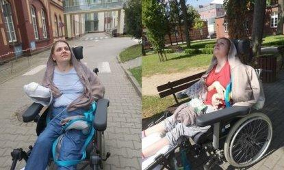 Trwa zbiórka na rehabilitację Oli Łągiewskiej
