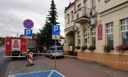 Alarm bombowy w Urzędzie Miejskim w Sulejowie. Na szczęście fałszywy