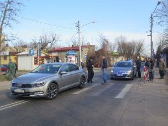 Dwa groźne zdarzenia na piotrkowskich drogach