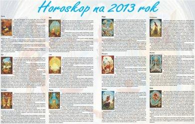 Horoskop na rok 2013