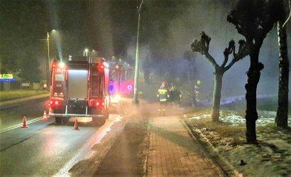 Pożar w Sulejowie. Przyczyną podpalenie?