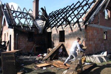 Pożar w Dąbrówce. Rodzina opowiada [AKTUALIZACJA]