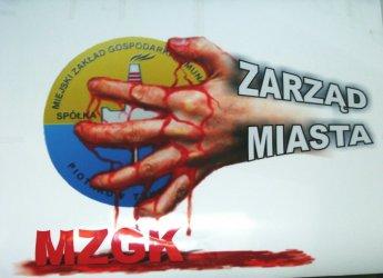 MZGK : ''Krwawy'' konflikt  z władzami miasta ?