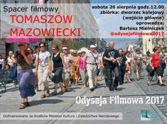 Filmowy spacer po Tomaszowie