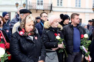 Piotrkowianie pożegnali prezydenta Gdańska