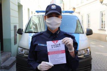 Piotrkowska policja także wspiera Widzialną Rękę