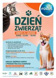 Dzień Zwierzaka w Focus Mall Piotrków Trybunalski. Galeria zaprasza klientów wraz z pupilami!