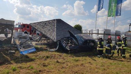 Groźne zdarzenie drogowe w powiecie piotrkowskim
