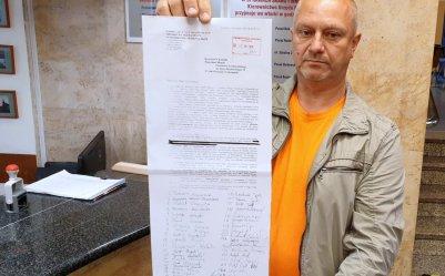 Pismo od protestujących kupców trafiło do magistratu