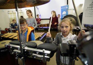 Bęben Show czyli warsztaty perkusyjne z Łódzkim Domem Kultury