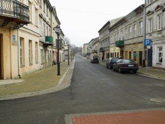 Starowarszawska w Piotrkowie już przejezdna