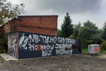 Wandale zniszczyli garaż OSP
