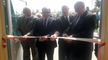 Czarnocin: Hala sportowa już otwarta