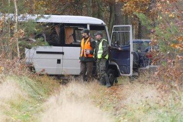 Strażnicy leśni odnaleźli zaginionego mężczyznę
