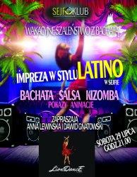 Impreza w stylu latino z gwiazdami