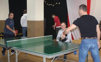 W Uszczynie znów zagrali w tenisa stołowego