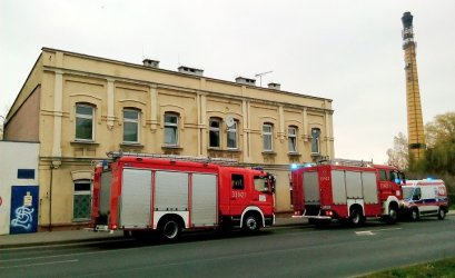 Wybuch gazu w kamienicy przy ul. Sulejowskiej w Piotrkowie