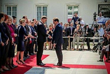 Wójt gminy Wola Krzysztoporska odznaczony przez prezydenta Dudę