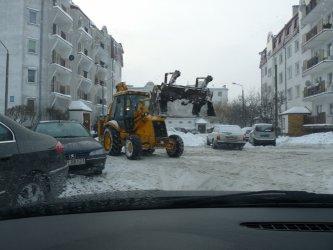 Piotrków: Wielkie usuwanie śniegu
