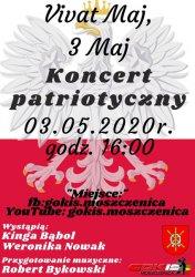 GOKiS w Moszczenicy zaprasza na koncert online.