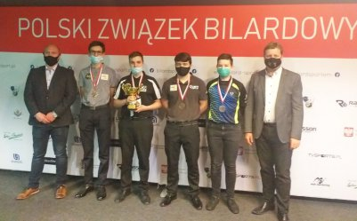Bilardziści z Rękoraja zdobyli 5 medali Mistrzostw Polski