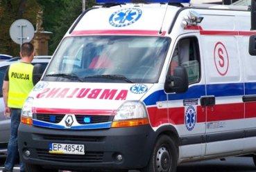 Wypadek na Wojska Polskiego. Kobieta w 9 miesiącu ciąży w szpitalu