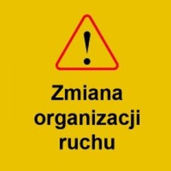 Zmiana organizacji ruchu na DK1