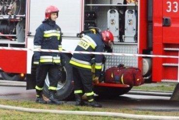 Pożar mieszkania w Piotrkowie