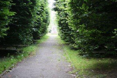 Fatalny stan alejek w parku Poniatowskiego